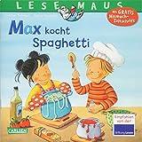 LESEMAUS 62: Max kocht Spaghetti