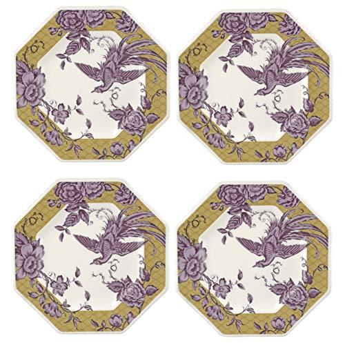Spode KINOC83090 Teller, achteckig, Keramik -