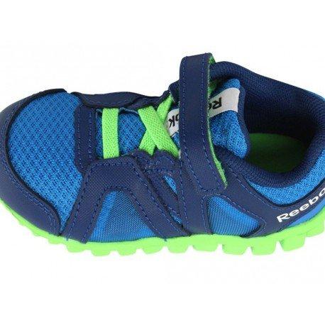 REALFLEX TRAIN 2.0 BLU - Chaussures Bébé Garçon Reebok Vert