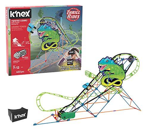K'Nex Twisted Eidechse Achterbahn Bausatz (Barbie Roller Coaster)