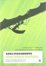Una edad dificil par Anna Starobinets