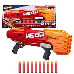 Idea Regalo - Hasbro Nerf n-Strike Mega Twinshock