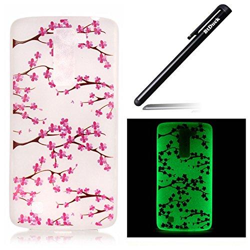btduck-coque-de-protection-housse-etui-pour-lg-k7-flip-case-cover-lumineux-prune-fleur-fleurs-motif-