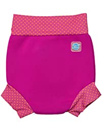 Splash About Nappy - Happy Pink/Mango Dot - , color rosa, talla L (6-14 meses)