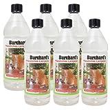 SUPER-Sparpaket Bio-Lampenöl von Dr. Burchard - OHNE ERDÖL - 6 Flaschen  1 Liter - GRATIS VERSAND