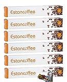 60 CÁPSULAS CAFÉ COMPATIBLES NESPRESSO. SUAVE. Nuevas cápsulas de exclusivo café, especialmente envasadas para preservar la más pura esencia de la taza de café perfecta. CALIDAD PREMIUM, EL MEJOR CAFÉ PARA LOS MÁS EXIGENTES.