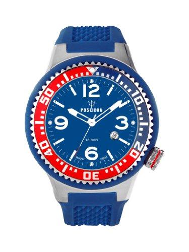 Kienzle K2011157043-00250 - Orologio da polso uomo, silicone, colore: blu