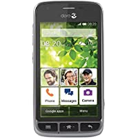 Doro Liberto 820 Mini 3G UK SIM-Free Smartphone - Black/Steel
