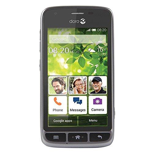 Doro Liberto 820 Mini 4' 1500mAh Negro, Acero Inoxidable - Smartphone (10,2 cm...