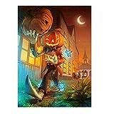 BaZhaHei 5D Halloween Diamant Malerei Stickerei Gemälde Strass eingefügt DIY Kreuzstich Stickerei Vollbohrer Home 25x30cm