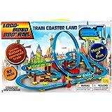 82pcs ChuChu Train Coaster With Loop 360 Loco-Monorail Land Bullet Train Play Set (Blue)
