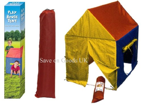 childs-kids-garden-play-house-wendy-tent-red-blue-yellow-small-toy-tent