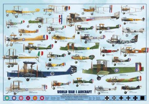 International Publishing 0804N00016b-World War I Aircraft, clásica Puzzle