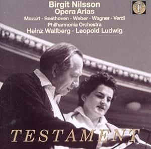 Birgit Nilsson Opera Arias by Testament UK (2000-11-21)