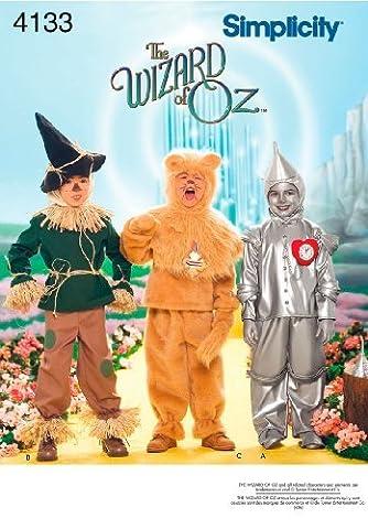 Tin Man Costumes Wizard Of Costumes Oz - The Wizard of Oz Scarecrow, Lion, Tin