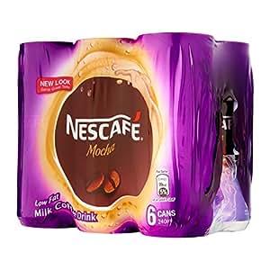 Nescafe Mocha Can, Low Fat Milk Coffee Drink - 240 ML