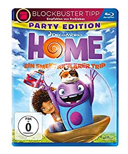 Home - Ein smektakulärer Trip - Party Edition [Blu-ray]