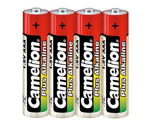 Galleria fotografica Camelion LR 03 Micro Plus-Batterie alcaline AAA, confezione da 4 pezzi (Shrink Wrap confezione)