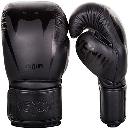 Venum Giant 3.0 Boxhandschuhe Muay Thai, Kickboxing, Schwarz / Schwarz, 10 oz