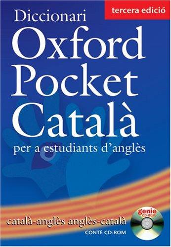 Oxford pocket catalá : diccionari per a estudiants d'angles catala - angles/ang: catala - angles/angles - catala) (diccionari