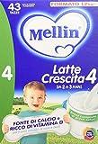 Mellin Latte Crescita 4 in Polvere - 3 Confezioni x 1200 gr