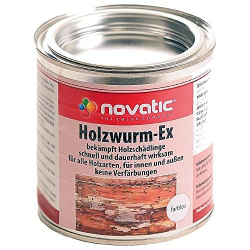 Novatic Holzwurm-Ex Holzwurmbekämpfung farblos 750ml