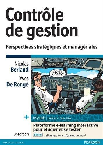 Contrôle de gestion 3e édition + MyLab | version française : Perspectives stratégiques et managériales