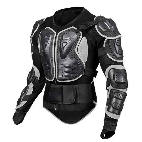 Motorradjacke Hochwertig Motorrad Schutz Protektoren Schutzjacke Hemd Brustschutz Fallschutz, Protektorenjacke Protektorenhemd, MTB Schutzkleidung Schutzjacke