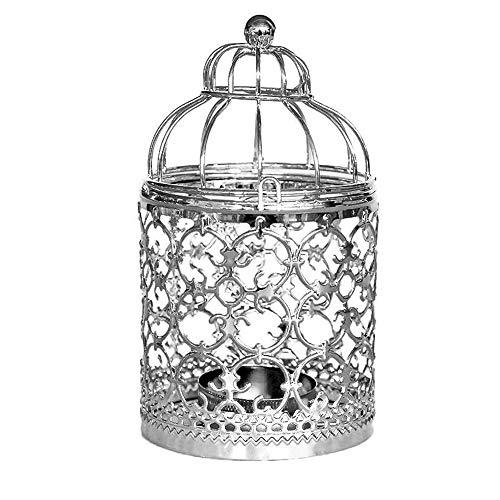 NEEDRA Aushöhlen Eisen Birdcage Kerzenständer Tisch Kerzenhalter Parteien Hochzeit hängen...