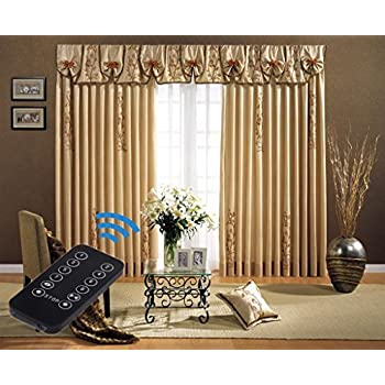 Exceptional 4 Meter Long(165 Inch) Electric Curtain Tracks, Motorized Drapery Rod