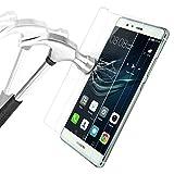 ISUDA Film Protection En Verre Trempé Huawei P9, Protection écran en Verre Trempé de super qualité protecteur pour (HUAWEI P9)