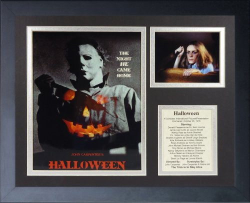 Legenden Sterben Nie Halloween gerahmtes Foto Collage, 11 x 35,6 cm