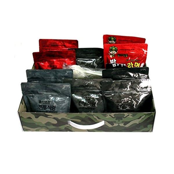 [Kim Byeong Jang]Korea Military Food Camping Rice Meal C Ration military foods MRE 10Pcs Set Combat Emergency Rations… 3