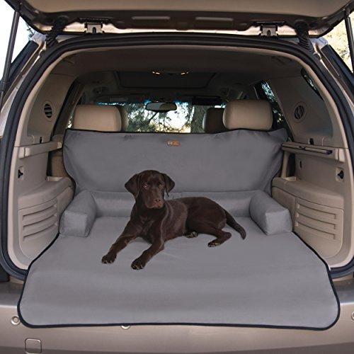 K & H Pet Products Nackenrolle Cover Gray-Schützt Cargo Bereich der Ihr Fahrzeug vor Tierhaaren, Schmutz, Kratzern und mehr-Nackenrolle Kissen für Komfort - Bed Cover Dodge