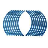 #10: Blue : 16 Pcs Strips 10-12