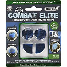 Trigger Treadz Combat Elite Thumb And Trigger GriPS Pack - Blue Camo (Xbox One) [Importación Inglesa]