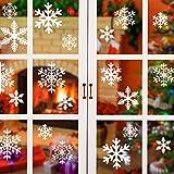 Foho Schneeflocken Fensterbild, Weihnachtsdeko Fensterbilder für Winter & Weihnachten Fensterdeko Set - Statisch Haftende PVC Aufkleber Weihnachten Aufkleber für Schaufenster Vitrinen Fenster Türen für Foho Schneeflocken Fensterbild, Weihnachtsdeko Fensterbilder für Winter & Weihnachten Fensterdeko Set - Statisch Haftende PVC Aufkleber Weihnachten Aufkleber für Schaufenster Vitrinen Fenster Türen