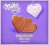 Milka, I love Milka, Hauchzarte Herzen, Alpenmilch Schokolade, 130g, 5er Pack (5 x 130 g)