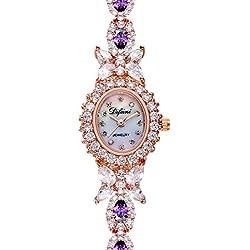 Ladies fashion Bracelet Watch/Simple casual watches/Waterproof quartz watches-D