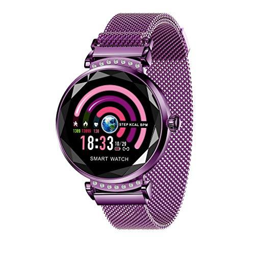 Fitness tracker smartwatch, meibax lady orologio intelligente braccialetto fitness activity tracker donna uomo bambini contapassi calorie