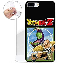 FINOO Dragonball Serie 02 Silicone Dragonball Iphone 7 Plus/8 Plus - Picollo vs Nappa, Iphone 7 Plus/8 Plus