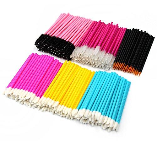 Cepillos desechables de cejas y pestañas/delineador de ojos/ pinceles de labios; herramientas y accesorios de maquillaje (300 unidades).