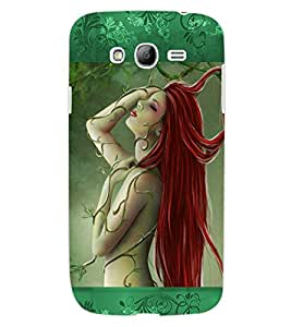 ColourCraft Lovely Girl Design Back Case Cover for SAMSUNG GALAXY GRAND I9082