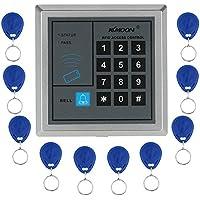 KKmoon RFID Proximité Entrée Serrure de Porte Système de contrôle d'accès + 10 Télécommandes