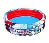 Bestway 98006 Piscina gonfiabile Spiderman 152 x 30 cm 3 anelli per bambini. MWS