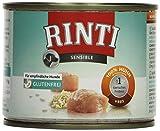 Rinti Hundefutter Sensible Huhn & Reis 185 g, 12er Pack (12 x 185 g)