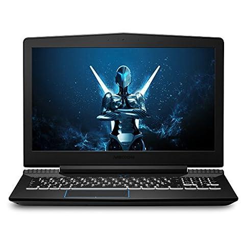 MEDION ERAZER X6603 MD 60497 39,6 cm (15,6 Zoll mattes Full HD Display) Gaming Notebook (Intel Core i7-7700HQ, 16GB DDR4 RAM, 1TB HDD, 256GB SSD, Nvidia GeForce GTX 1050 TI 4GB GDDR5, Win 10 Home)