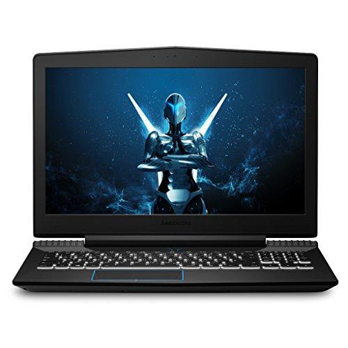 MEDION ERAZER X6603 MD 60497 39,6 cm (15,6 Zoll mattes Full HD Display) Gaming Notebook (Intel Core i7-7700HQ, 16GB RAM, 1TB HDD, 256GB SSD, Nvidia GeForce GTX 1050, Win 10 Home) schwarz