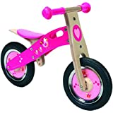 Scratch - Bicicleta de madera con pajaritos (6181426)