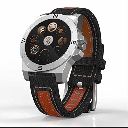 Smart Sport Watch Herzfrequenz Monitor Fitness Tracker Uhr Activity Tracker Schrittzähler Armband Kalorienzähler SMS Anrufe Reminder Sport Armbanduhr mit (Kostüme Golf Halloween)